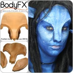 Avatar Brow and Ears Male   Creature