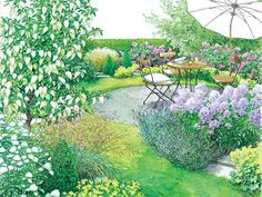 ein reihenhausgarten aus der reihe | staudenbeet, reihenhausgarten, Gartenarbeit ideen