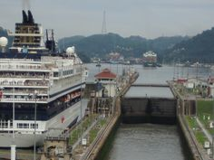 I want to visit for a ride around it, sounds fun for me! It is the Panama Canal in Panama.