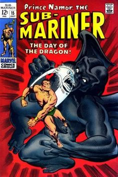 Sub-Mariner #15 - The Day of the Dragon!