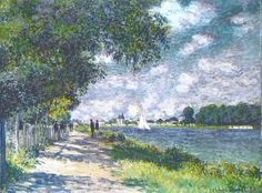 Claud Monet. The Seine at Argenteuil, 1875