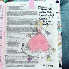 Clothe yourselves with the beauty that comes from within. Cinderella said to be…
