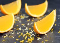 Gelatina de naranja fácil