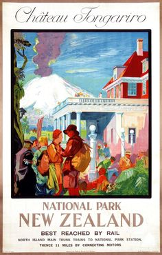 Selling the Dream: The Art of Early New Zealand Tourism • Speaker • Public Address