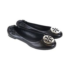 490dfd9ec3c813 ... sweden tory burch reva ballet flats 220 liked on polyvore featuring shoes  flats tory burch sapatilhas