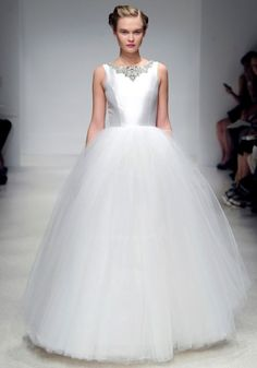 Ballerina Inspired Gorgeousness by Amsale Fall 2012 Bridal Collection