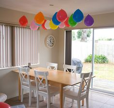 This is the best idea I've seen for using balloons at kid parties!