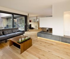 Haus S: Modern Wohnzimmer von Ferreira | Verfürth und Partner Architekten mbB