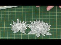 Vellum Water Lily-How to add subtle shading to vellum stamped images