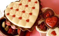 もうすぐバレンタインだね。  Valentine's Day just around the corner