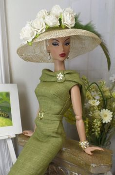Grand Stand for Silkstone Barbie and Victoire Roux on Etsy now