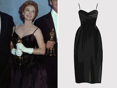 1959 Susan Hayward for: I Want to Live! (1958) Dress designed by: Unknown