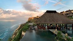 Bulgari Bali Resort - 5 star $$$$$ - boutique cliff top resort. Swim at the pristine private beach, reachable only by elevator! - see more - http://www.best10hotels.com/#!bali-5-star-resorts/c1w8e #bali #resorts #travel