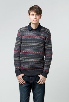 "Sweater Dark Grey ""Win"""