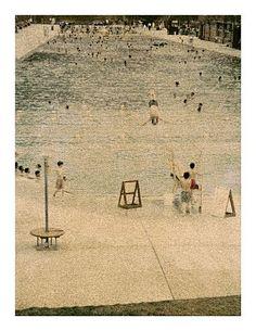 John Huggins-'Glenwood Hot Springs, Colorado, #2 ed. of 17'-Sears-Peyton Gallery