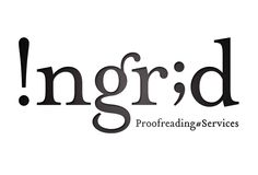 Genius logo design for proofreading services.