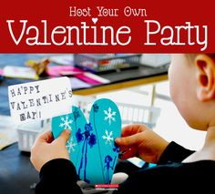 Grab your art supplies and make fun, one-of-a-kind valentines with your child.