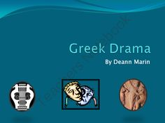 Greek Drama: Powerpoint Presentation from Socrates Lantern on TeachersNotebook.com (17 pages)  - #Socrates Lantern  Powerpoint Presentation World History Greek Drama. Educational and interesting.