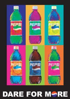 Pepsi Cola Pop Art