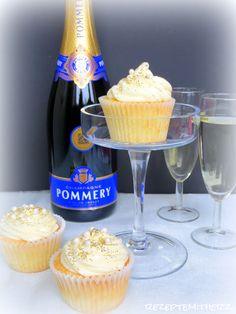 Rezepte mit Herz   ♥: Champagner Cupcakes