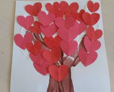 Heart Tree Collage