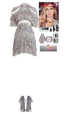"""""""Outfit"""" by eliza-redkina ❤ liked on Polyvore featuring Zimmermann, Chiara Ferragni, Clinique, MAC Cosmetics, Givenchy, Agent Provocateur, Jimmy Choo, outfit, like and look"""