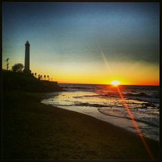 Puesta de Sol en Chipiona, Cadiz.