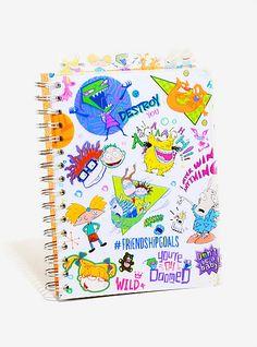 Nickelodeon Spiral Bound Subject NotebookNickelodeon Spiral Bound Subject Notebook,