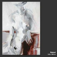 NUDE  Ein Original in der Ausstellung der Kunstagentur Bild & Raum