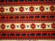 Pair it up with another Navajo fabric or use it alone. This is a super nice weight quilting weight Cotton Fabric. Navajo, Terracotta, Tribal Wallpaper, Native American Totem, Indiana, Scrap, Fabric, Inspiration, Ebay