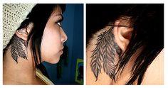 Tattoo - Behind ear