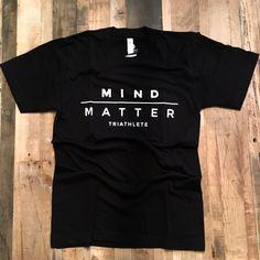 "Mind/Matter Triathlete Short Sleeve Shirt - Men's ""Original"" Black"
