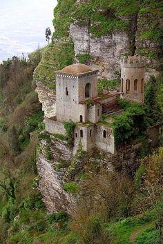 Cliff Castle Trapani Sicily