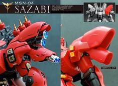 HGUC 1/144 Sazabi - Customized Build     Modeled by Shunneige     [Updated 5/1/15]   *Was on display at Gunpla Expo Japan Tour 2015 (Fukouk...