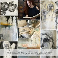Our First Art Journaling Course Begins On Monday! {come and see the sneak peek} | Jeanne Oliver