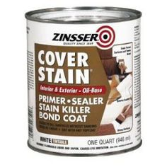 Use Zinsser Cover Stain Primer, Sealer, Stain Killer Bond Coat To Paint Particleboard / Laminate Furniture Particle Board Furniture, Laminate Furniture, Paint Furniture, Furniture Makeover, Cottage Furniture, Furniture Refinishing, Cheap Furniture, Furniture Ideas, Funky Furniture