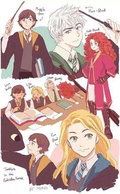Cool Disney/Harry Potter