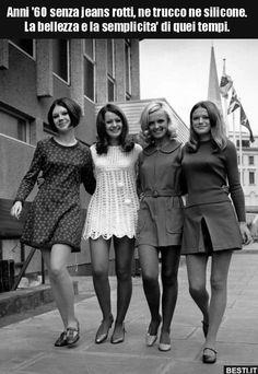 Anni '60 senza jeans rotti, ne trucco ne silicone. La.. 60s And 70s Fashion, Mod Fashion, Fashion Mode, Vintage Fashion, Street Fashion, Sporty Fashion, London Fashion, Latest Fashion, 1967 Fashion