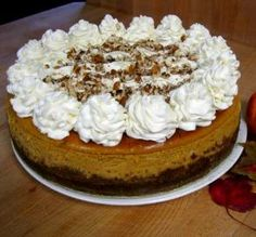 "Cheesecake Factory Pumpkin Cheesecake: ""I made this exactly the way the recipe said, and it turned out flawless — no cracks, no sinkholes. The whole family came back for seconds!"""