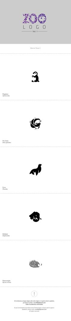 Zoo Logo Vol. 1 on Behance