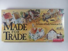 Made For Trade A Game of Early American Life Mint in Shrink Wrap 1993 by acornabbey on Etsy