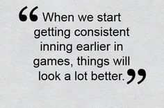 Bobby Valentine reflected on Josh Beckett's tough outing against Cleveland on May 10.