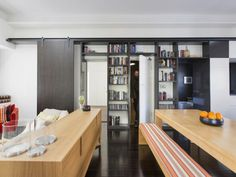 living room joinery storage 5/300 Liverpool Street, Darlinghurst