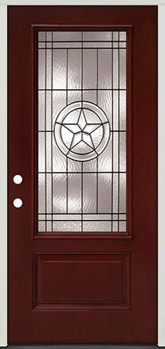 Show off your Lone Star pride with the 'Texas Star' front door