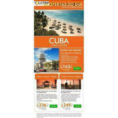 CUBA - 6 noites  Somente terrestre  HAVANA COM VARADERO Inclui: Somente terrestre  transfer In/Out  3 diárias com café da manhã em Havana  3 diárias com all inclusive em Varadero  Assistência de Viagem Internacional. Saída: 01/10 até 30/11/2015 A PARTIR DE U$49500  HAVANA/ CAYO LARGO/ VARADERO Inclui: Somente terrestre  transfer In/Out  2 diárias com café da manhã em Havana  2 diárias com all inclusive em Cayo Largo  2 diárias com all inclusive em Varadero  Assistência de Viagem…