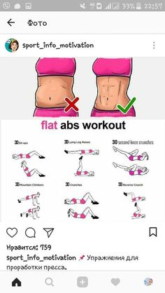 How to Lose Belly Fat with Ab Workout Flat Abs Workout, Gym Workout Tips, At Home Workout Plan, Workout Challenge, At Home Workouts, Fitness Motivation, Lose Belly Fat, Excercise, Health Fitness