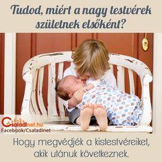Érdekes a testvéri szeretet, mert hol a féltékenységből csap át a gyűlöletbe, hol pedig a legnagyobb szeretetből megy át óriási verekedésbe. Most egy kislány jött rá a szörnyű igazságra, és egyszerűen kétségbeesett, mikor megtudta, hogy kisöccse egyszer majd nagy lesz és férfi válik belőle.   #családinet #gyereknevelés #anyaság #kistestvér_érkezik #kistestvér_születik #testvéri_szeretet Baby Shower Quiz, Baby Shower Games, Baby Games, Bassinet, Games To Play, How To Find Out, Toddler Bed, Child Bed, Crib