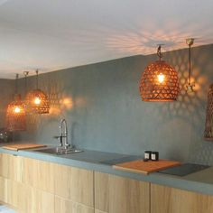 Micro Topping Concretes - EBC & PMB - MERCADIER: request quotes, estimates, prices or catalogues online through MOM, your digital platform dedicated to decor, design and lifestyle professionals. Bad, Concrete, Exterior, Ceiling Lights, Pure Products, Shower, Lighting, Kitchen, House