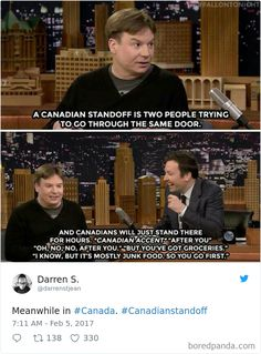 100 Times Canadians Were A Complete Mystery To The Rest Of The World Best Funny Jokes, Funny Jokes To Tell, The Funny, Hilarious, Canada Jokes, Canada Funny, Canada Eh, Canadian Memes, Canadian Things