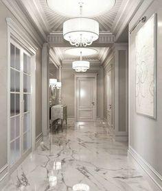 ✔ 49 discover ideas about home design 10 Home Room Design, Home Interior Design, Living Room Designs, House Design, Marble Interior, Flur Design, Plafond Design, Entryway Flooring, Bathroom Flooring